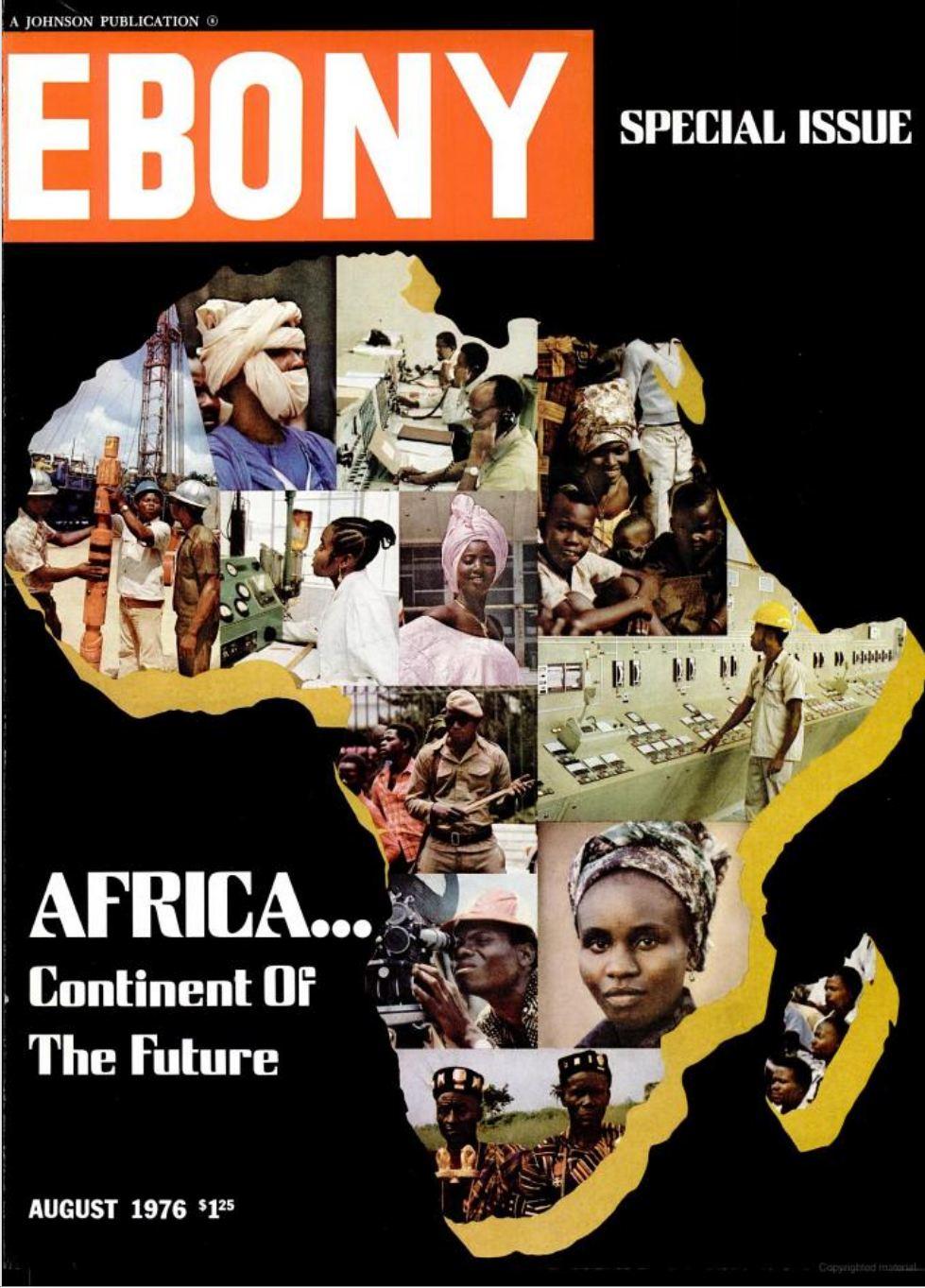 Alex Haley - Ebony Magazine - 1976